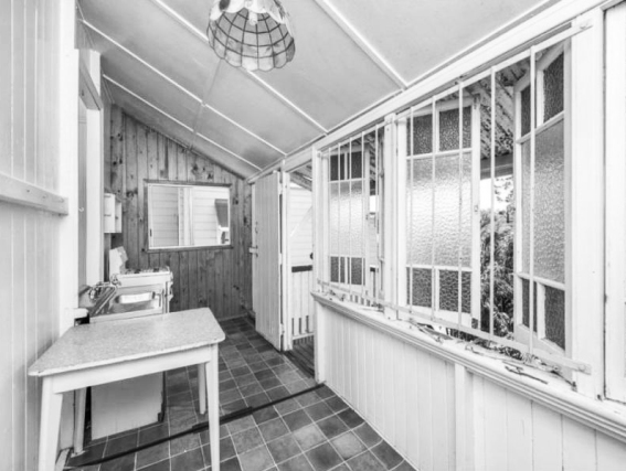 Original laundry room.