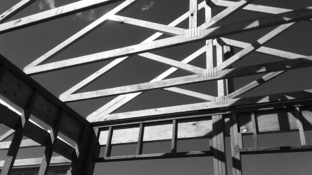 Trusses against Sky 2